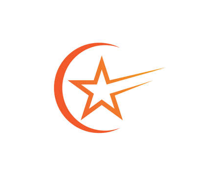 Star Template vector icon illustration design