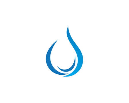 Water drop   Template vector illustration design Vectores