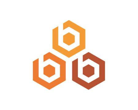 honey Bee   Template vector icon illustration design Banco de Imagens - 153376681
