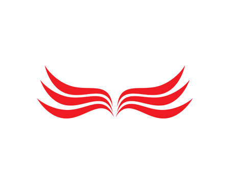 Falcon Wing   Template vector icon design