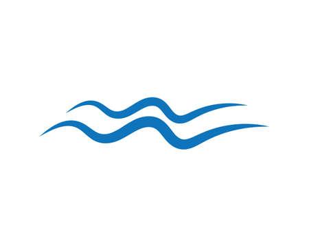 water wave   Template vector illustration Ilustração