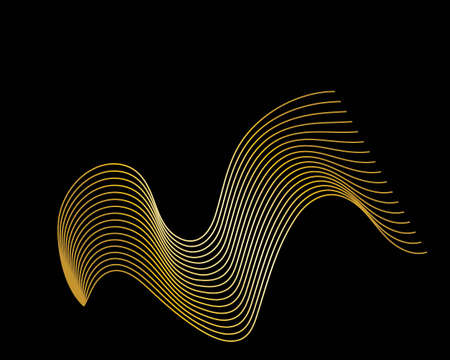 wave background for your business template 일러스트