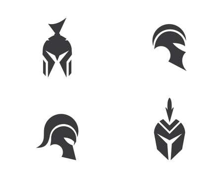 spartan   vector icon template