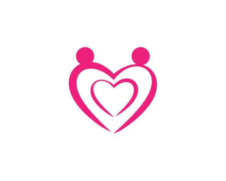 Love   Vector icon illustration design Template