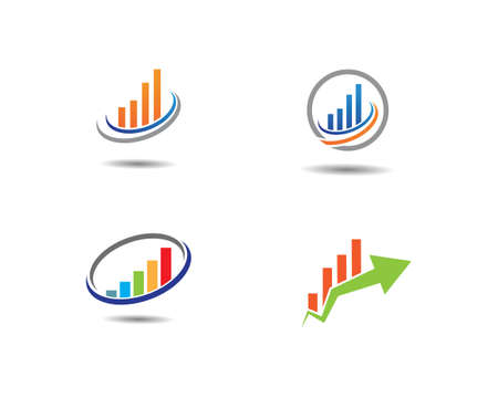 Business Finance professional  template vector icon
