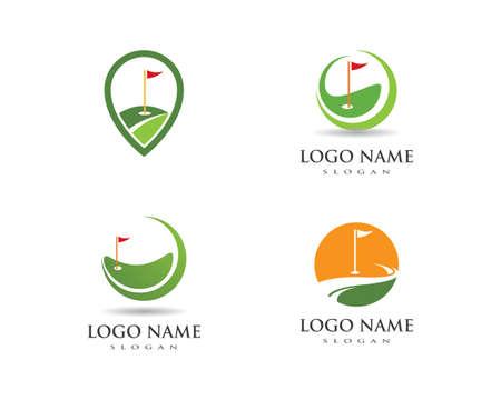 Golf Template vector illustration icon design