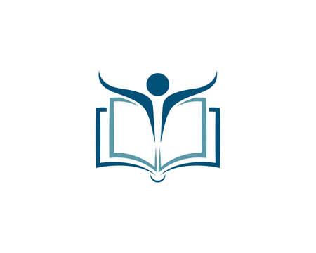 Book Education Template vector illustration design Vecteurs