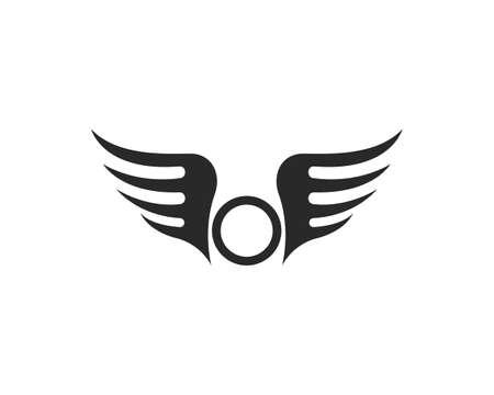 Falcon Wing Template vector icon design Vecteurs