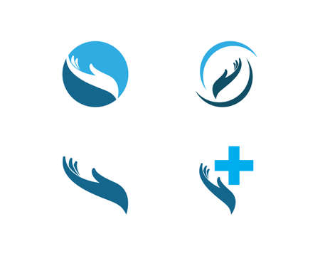Hand Care  Template vector icon Business