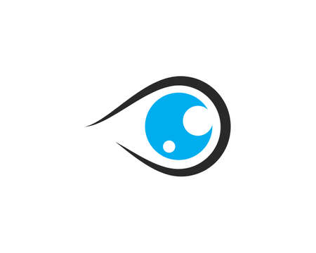 Branding Identity Corporate Eye Care vector  design  イラスト・ベクター素材