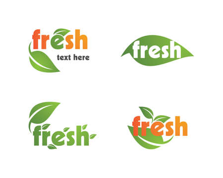 Fresh vector icon template