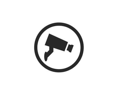 CCTV icon vector template