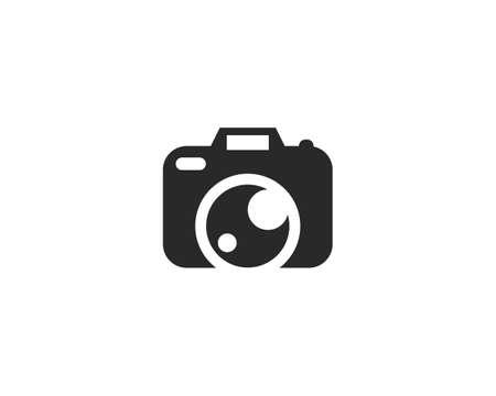 Camera icon vector template