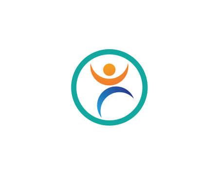 Healthy Life   template vector icon