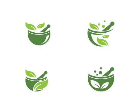 Pharmacy logo vector template