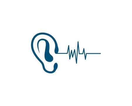 Hearing Logo Template vector Logos
