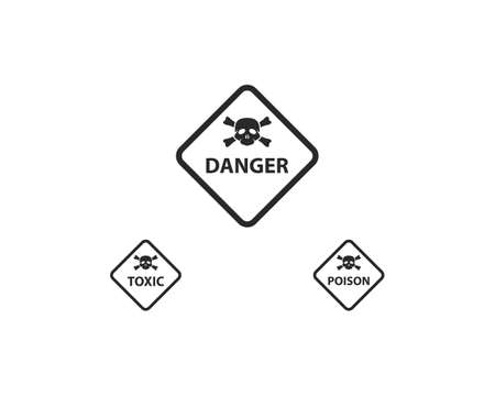 Warning icon vector template