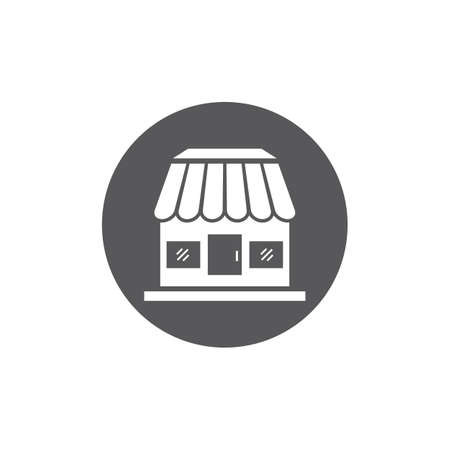 Store icon template vector design
