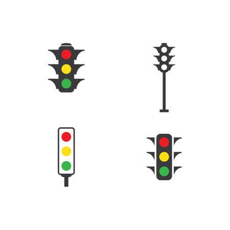 Traffic lights icon vector design