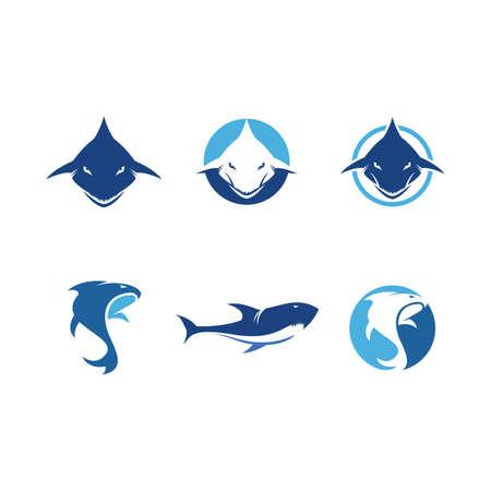 Shark Logo illustration vector Template