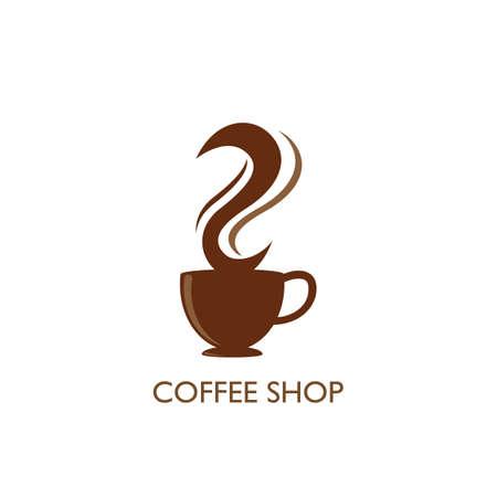 Coffee shop Template vector icon design