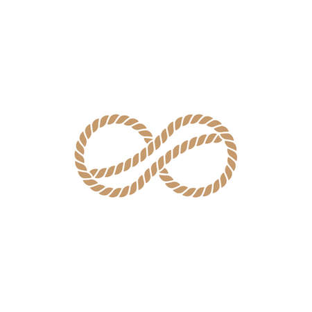 Rope icon vector illustration template