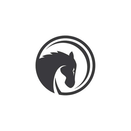 Horse  illustration template Vector design
