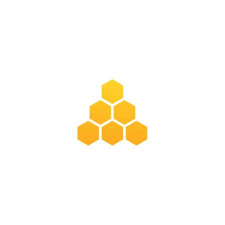 Honey logo illustration vector design