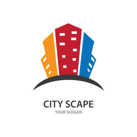 City scape, city silhouette vector illustration