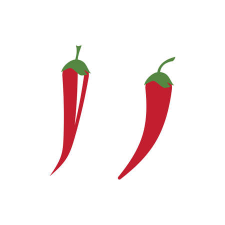Chili logo vector ilustration template