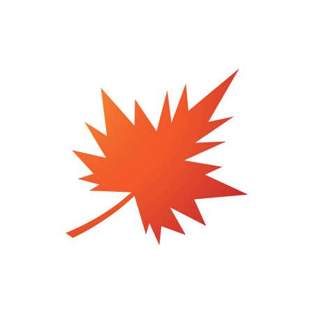 autumn leaf icon vector design template Vetores