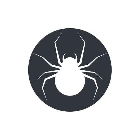 spider     vector template Stok Fotoğraf - 155432823