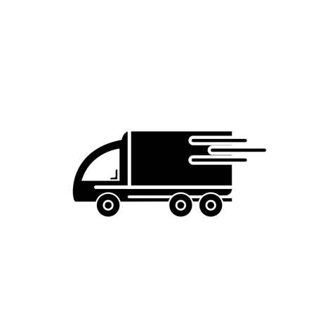 delivery truck icon template design Stok Fotoğraf - 155432988