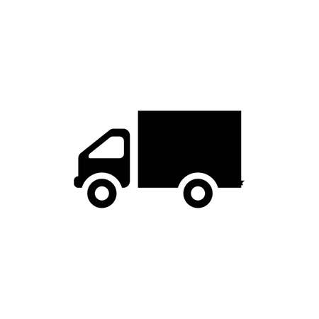 delivery truck icon template design Stok Fotoğraf - 155432991