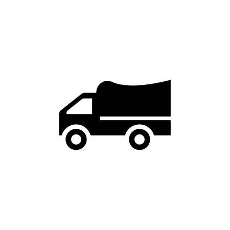 delivery truck icon template design Stok Fotoğraf - 155432994