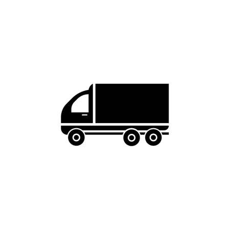 delivery truck icon template design Stok Fotoğraf - 155432998