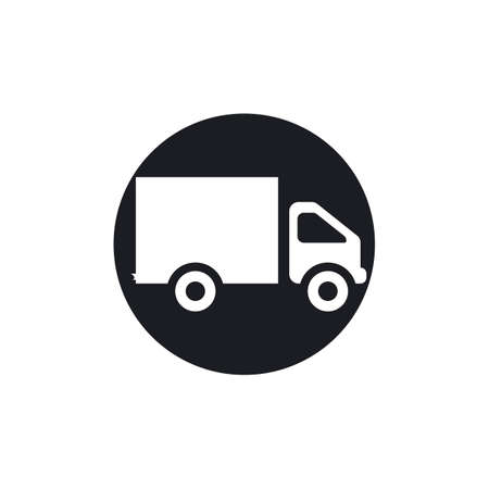 delivery truck icon template design Stok Fotoğraf - 155433003