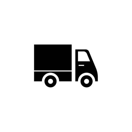 delivery truck icon template design Stok Fotoğraf - 155433004