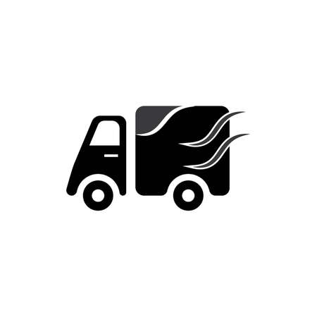 delivery truck icon template design Stok Fotoğraf - 155433006