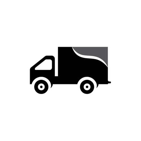 delivery truck icon template design Stok Fotoğraf - 155433008