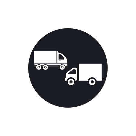 delivery truck icon template design Stok Fotoğraf - 155433019