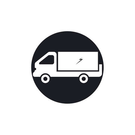 delivery truck icon template design Stok Fotoğraf - 155433022