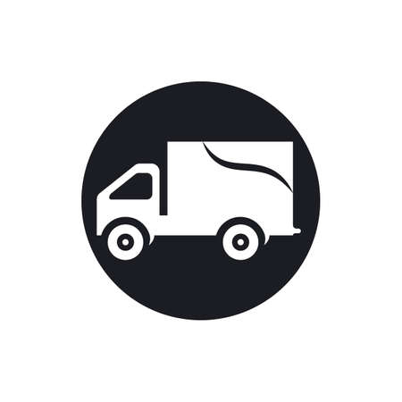 delivery truck icon template design Stok Fotoğraf - 155433027