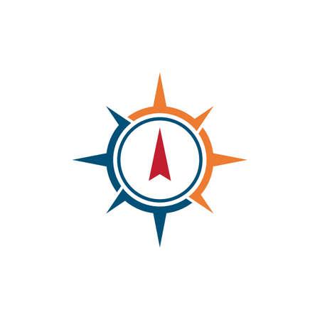 Compass   vector flat design