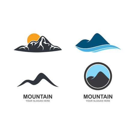Mountain illustration   template vector Иллюстрация