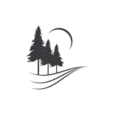 Pine tree     vector design