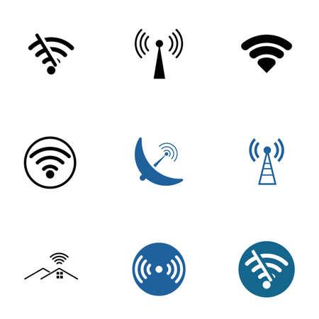 wireless Template vector illustration