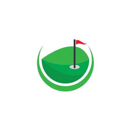 Golf Template vector illustration design