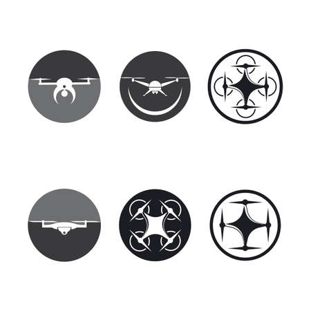 Drone   vector icon template