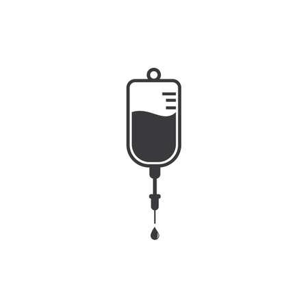 Infusion icon illustration vector flat design Vettoriali